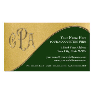 Impostos profissionais do revisor oficial de cartão de visita