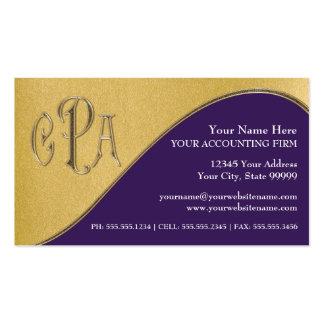 Impostos profissionais do revisor oficial de conta cartões de visitas