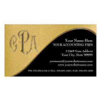 Impostos profissionais do revisor oficial de conta cartão de visita