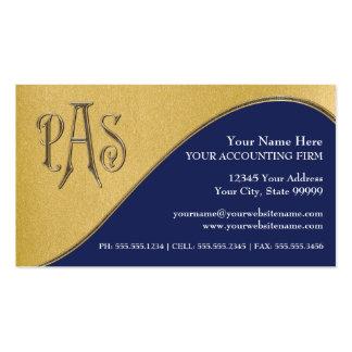 Impostos profissionais feitos sob encomenda do cartão de visita