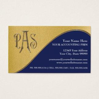 Impostos profissionais feitos sob encomenda do cartão de visitas