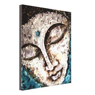 Impressão 10x12 das canvas da aguarela de Buddha