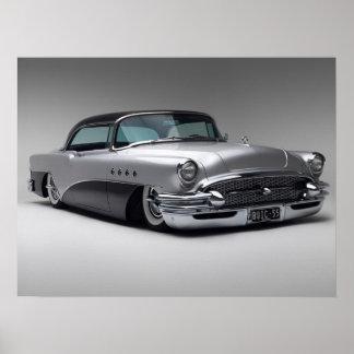 Impressão 1955 de Buick Roadmaster