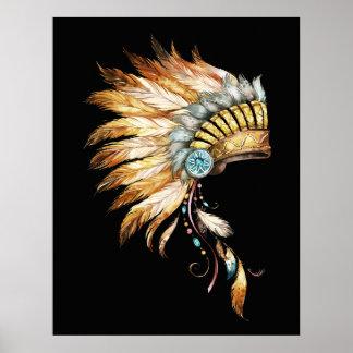 Impressão 1 do nativo americano