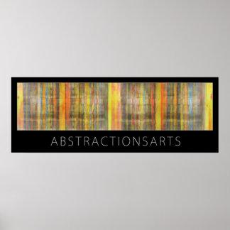 Impressão abstrato do poster das artes modernas