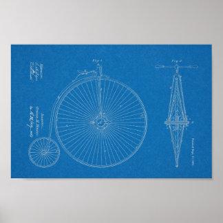 Impressão alto da arte da patente de design da
