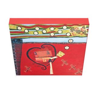 Impressão Amor-Envolvido da arte das canvas