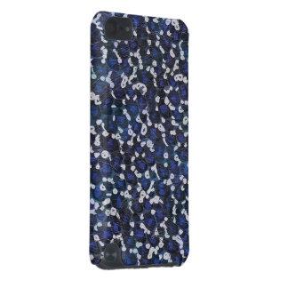 Impressão animal azul pintado capa para iPod touch 5G