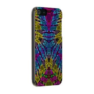 Impressão animal de néon capa incipio feather® shine para iPhone 5