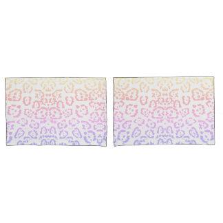 Impressão animal do arco-íris Pastel do leopardo
