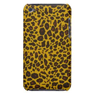 Impressão animal do leopardo capa para iPod touch