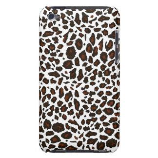 Impressão animal do leopardo de neve capa para iPod touch