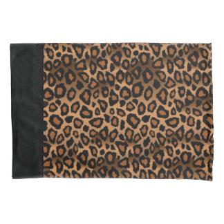 Impressão animal do leopardo em Brown