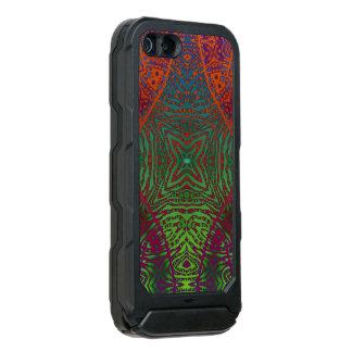Impressão animal fluorescente capa incipio ATLAS ID™ para iPhone 5