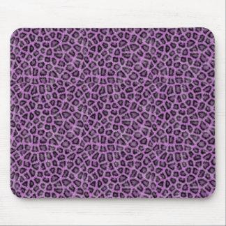 Impressão animal roxo mousepad