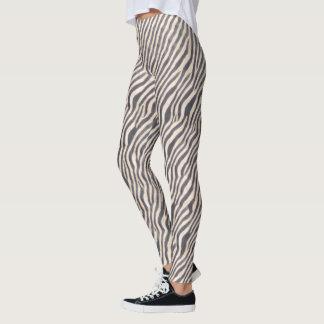Impressão animal - zebra - caneleiras legging