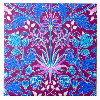 Impressão, Aqua e roxo do jacinto de William