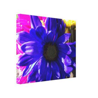 Impressão azul das canvas de Feelin Impressão De Canvas Esticada