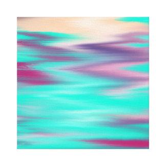 Impressão azul de Amaizing em canvas