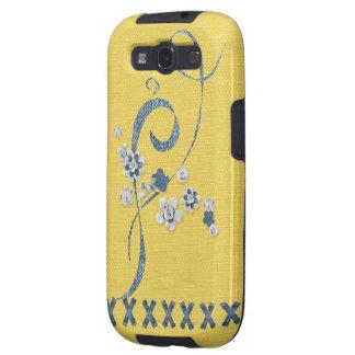 Impressão azul de Samsung do Cornflower da Capinha Samsung Galaxy S3