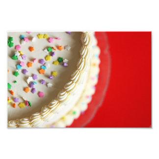 Impressão bonito bonito da foto do bolo de impressão de foto