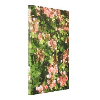 Impressão bonito na lona impressão de canvas esticada