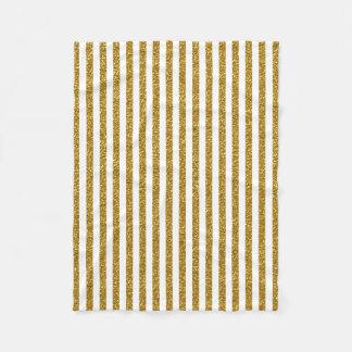 Impressão branco da foto do brilho das listras do cobertor de lã