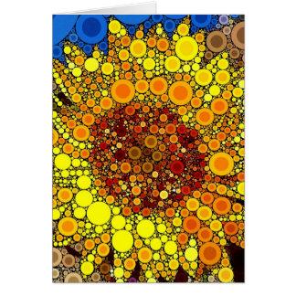 Impressão brilhante da arte de Digitas do mosaico Cartão De Nota