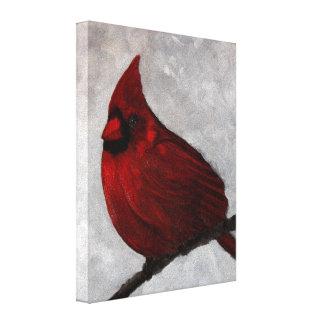 Impressão cardinal das canvas