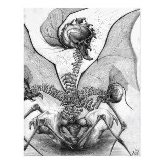 Impressão companheiro da foto da arte do monstro d