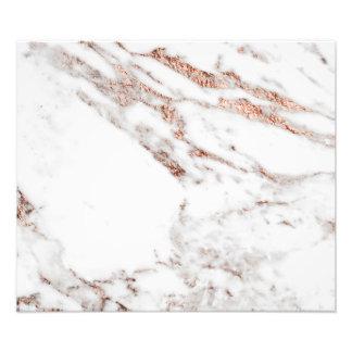 Impressão cor-de-rosa da foto do ouro