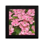 Impressão cor-de-rosa das flores do dogwood do kou porta trecos