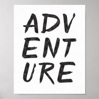 Impressão da arte da aventura