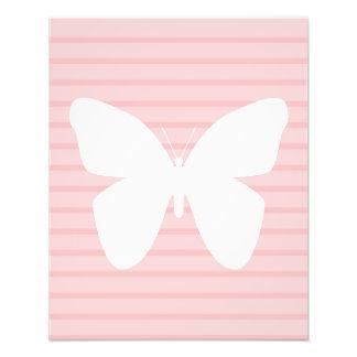 Impressão da arte da parede da borboleta foto