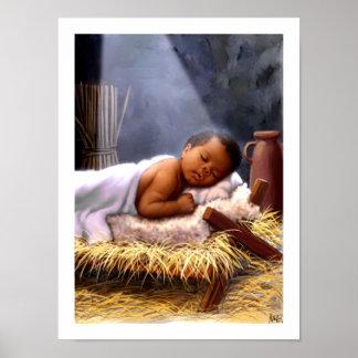 Impressão da arte da pintura de Jesus do bebê do