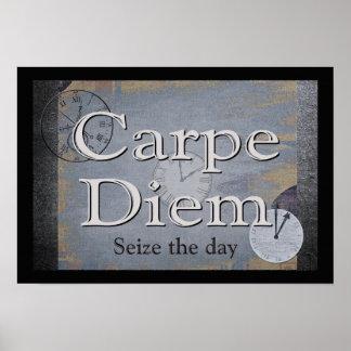 Impressão da arte de Carpe Diem (apreenda o dia)