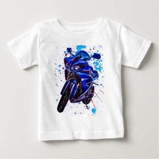 Impressão da arte de Yamaha YZF R1 Camiseta Para Bebê