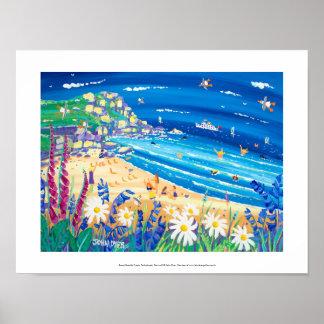 Impressão da arte: Deleites secretos do beira-mar,