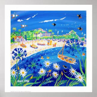 Impressão da arte: Dias do papagaio-do-mar,