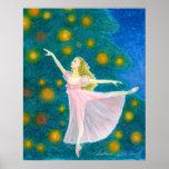 Impressão da arte do balé de Clara