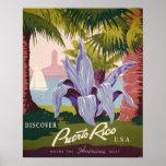 Impressão da arte do poster das viagens vintage de