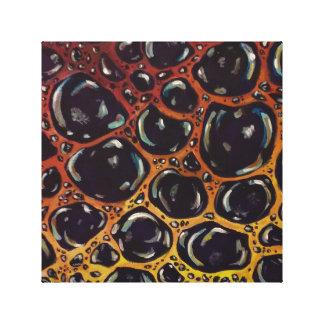 Impressão da bolha em canvas