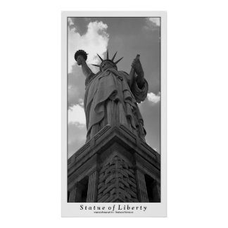 Impressão da estátua da liberdade