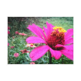 Impressão da flor