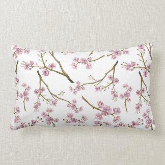 Impressão da flor de cerejeira de Sakura Almofada Lombar
