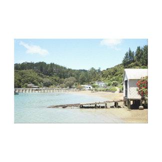 Impressão da foto da casa de barco