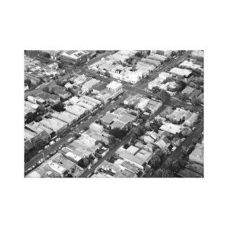 Impressão da foto da cidade de Melbourne