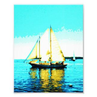 impressão da foto da escuna da navigação