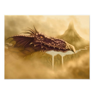 impressão da foto da fantasia do dragão de vôo