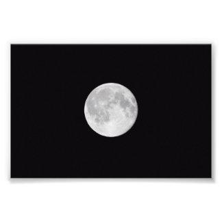 Impressão da foto da Lua cheia Impressão De Foto